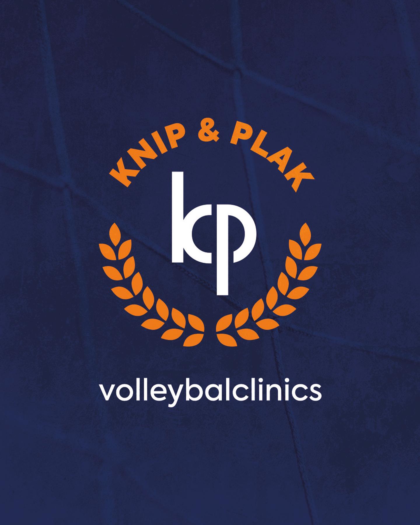 Logo en huisstijl gemaakt voor Kirsten Knip en Celeste Plak (Knip & Plak) gemaakt door Sjoerd van Schagen