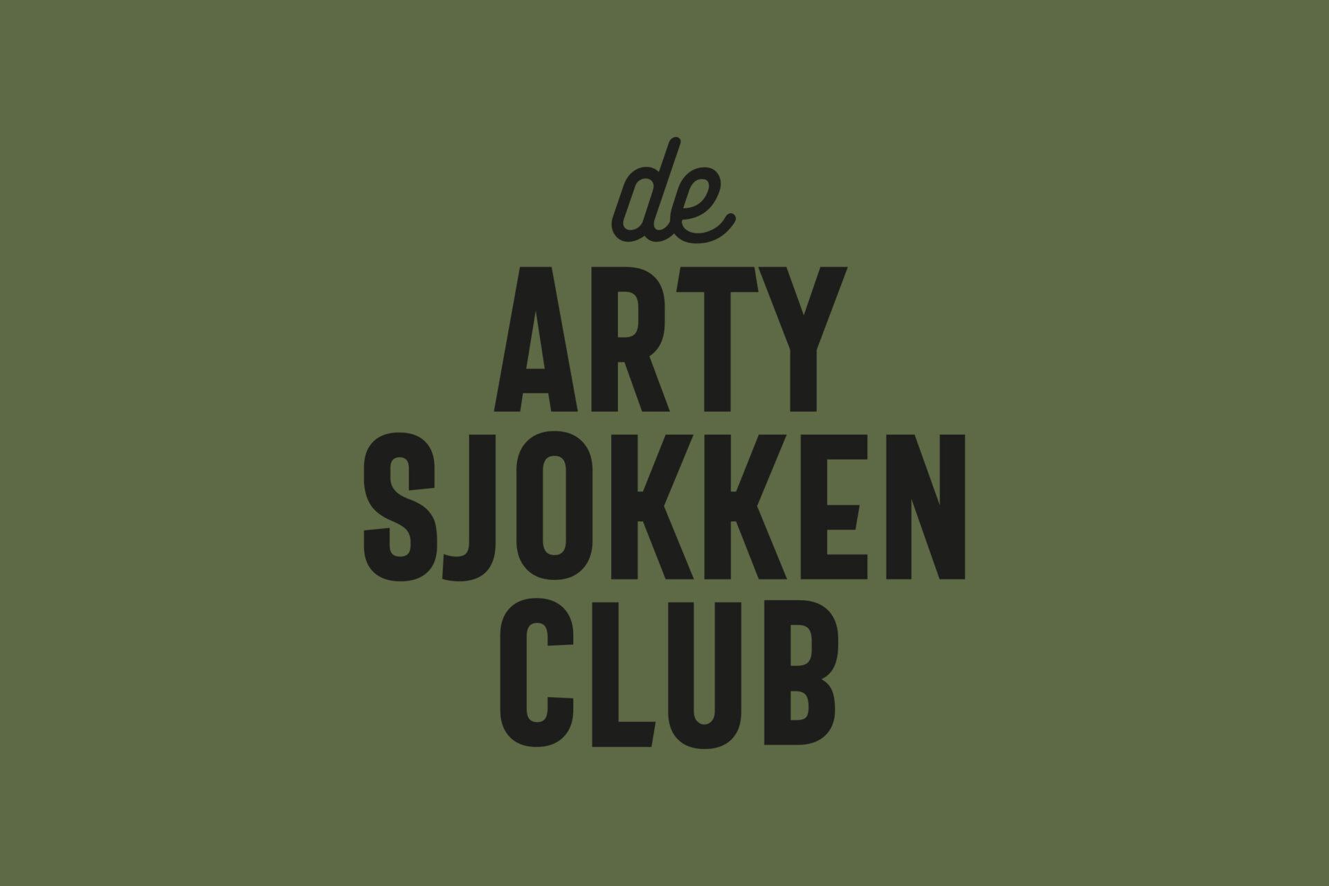 Logo voor Merijn, Maxim, Lars en Thom van de Artysjokkenclub gemaakt door Sjoerd van Schagen