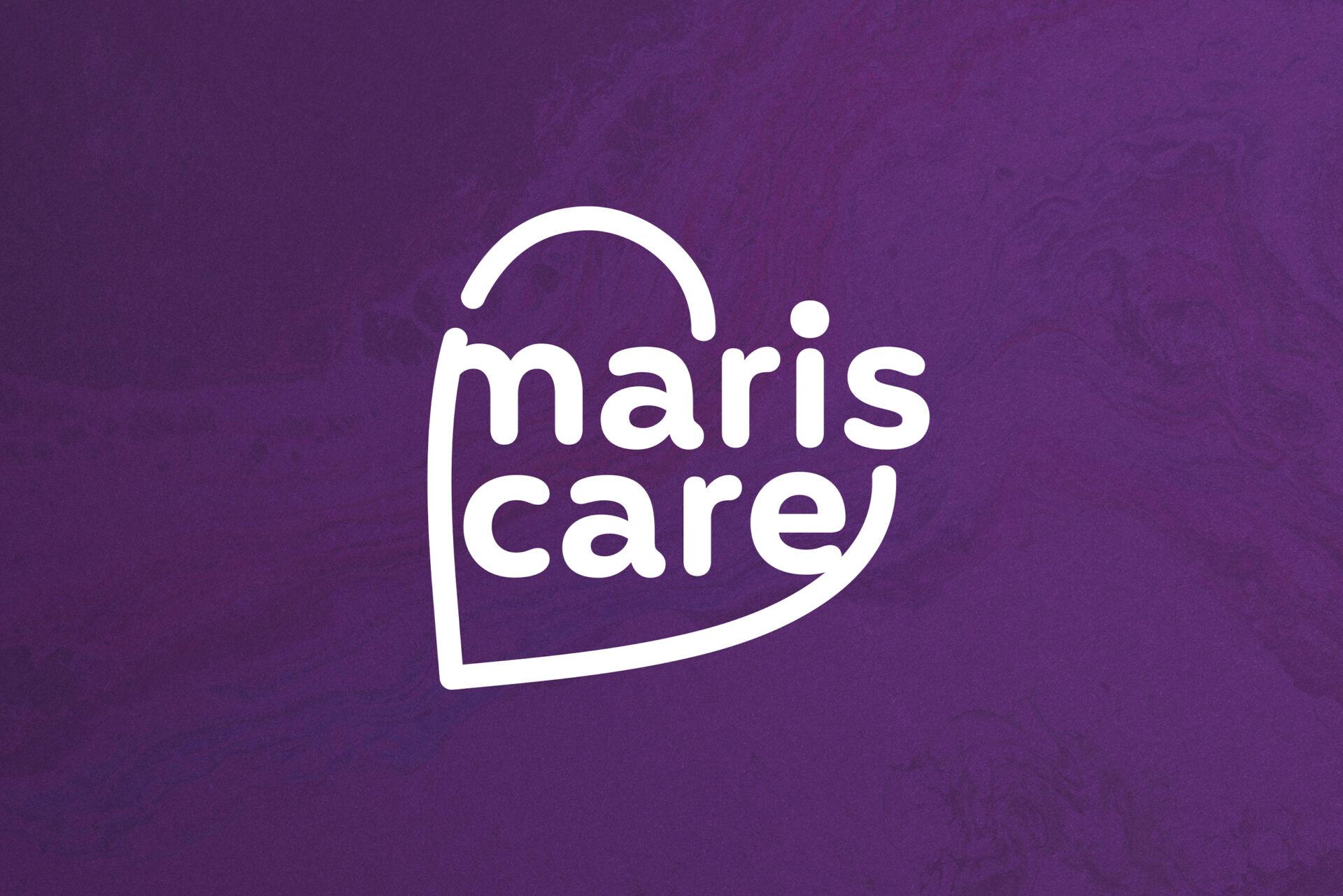 Een logo met hart voor Mariscare gemaakt door Sjoerd van Schagen