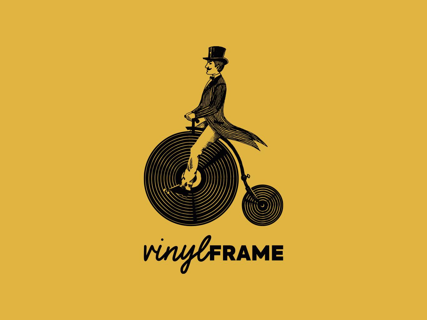 Logo voor VinylFrame gemaakt door Sjoerd van Schagen